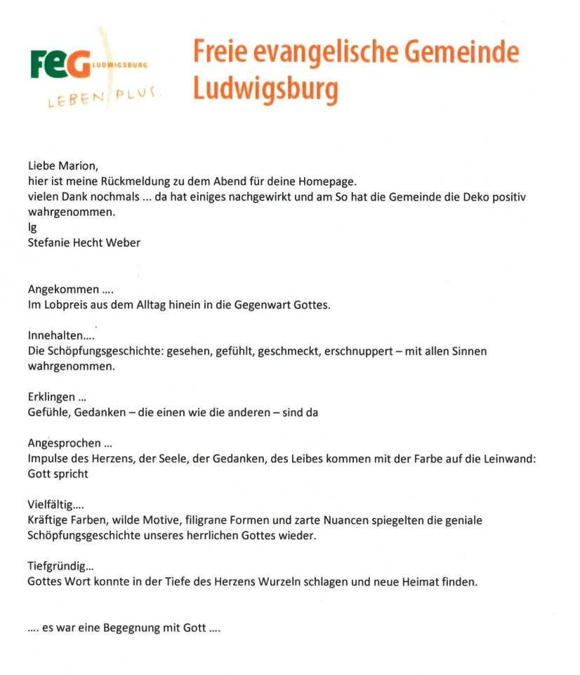 Freie ev. Gemeinde Ludwigsburg