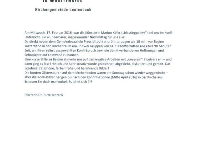 Kirchengemeinde Leutenbach