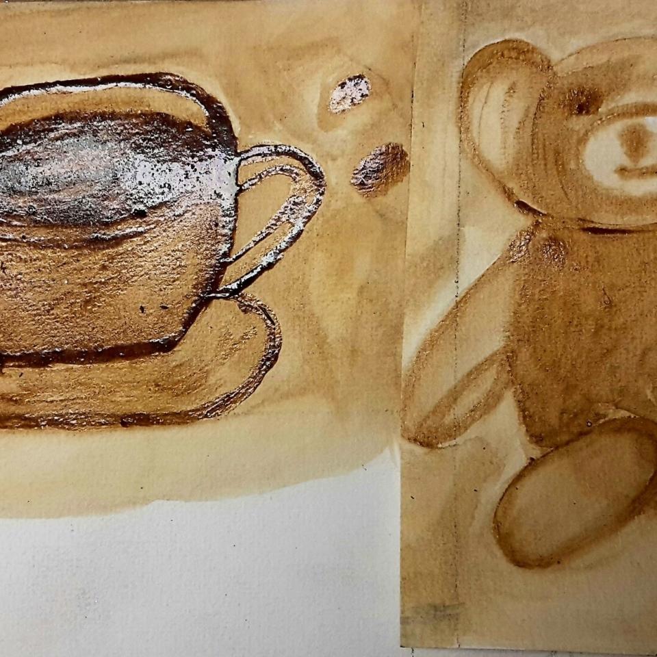 Montagsmaler Kaffeemalerei